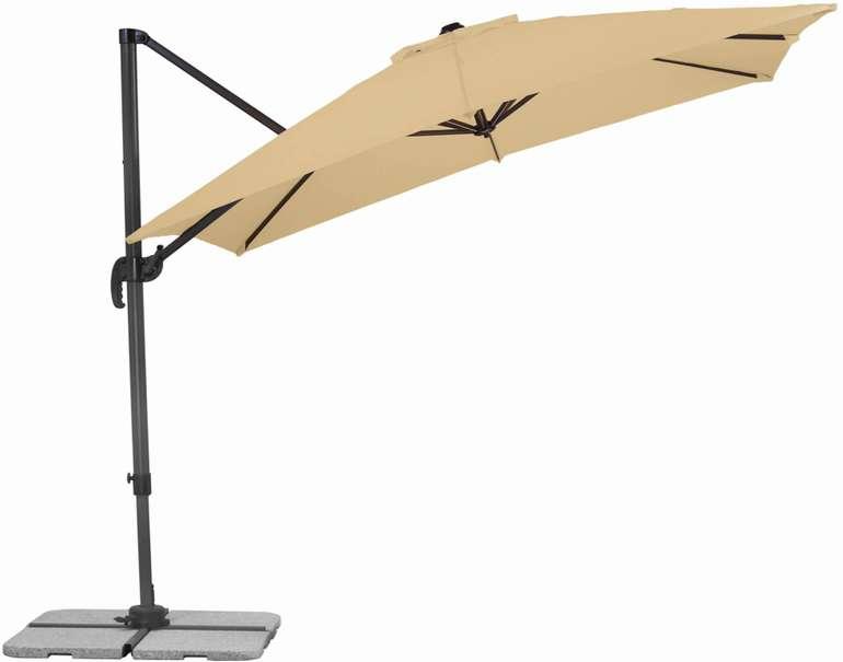 Schneider Sonnenschirm Rhodos ecco, natur (270cm) für 133,95€ inkl. Versand