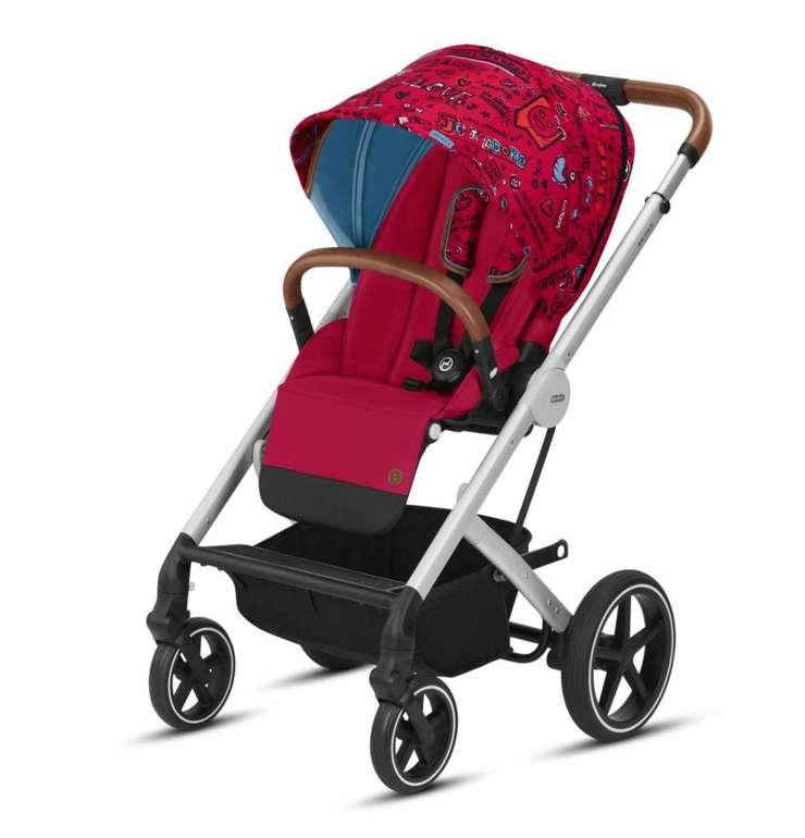 cybex GOLD Kinderwagen Balios S und Kinderwagenaufsatz Cot S Love in Pink-Purple für 299,99€ inkl. Versand