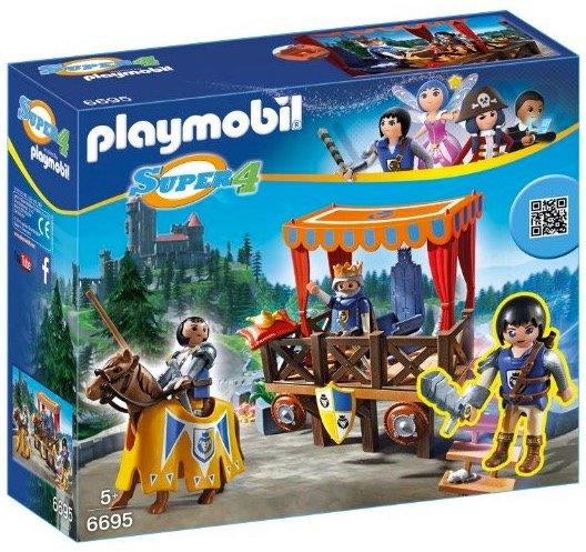 Playmobil 6695 Königstribüne mit Alex nur 9,99€ inkl. Versand (statt 16,50€)