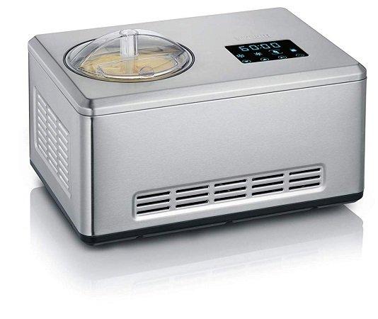 Severin EZ 7405 Eismaschine mit Joghurtfunktion für 149€ inkl. VSK (statt 188€)