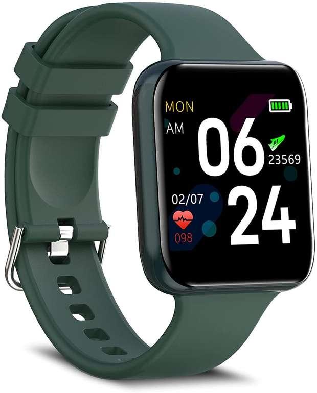 "Bebinca Fitness Tracker (1,54"" Display, IP68) für 23,99€ inkl. Versand (statt 40€)"