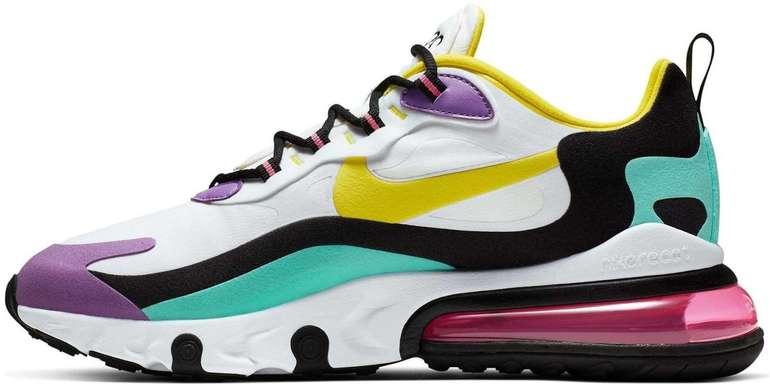 Nike Air Max 270 React Sneaker in verschiedenen Farben & Größen für je 67,18€ (statt 120€)