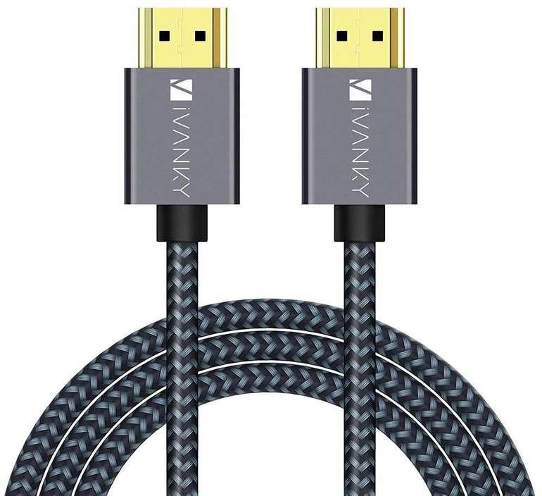 iVANKY HDMI Kabel 4K (3 Meter) für 6,59€ inkl. Prime Versand (statt 11€)