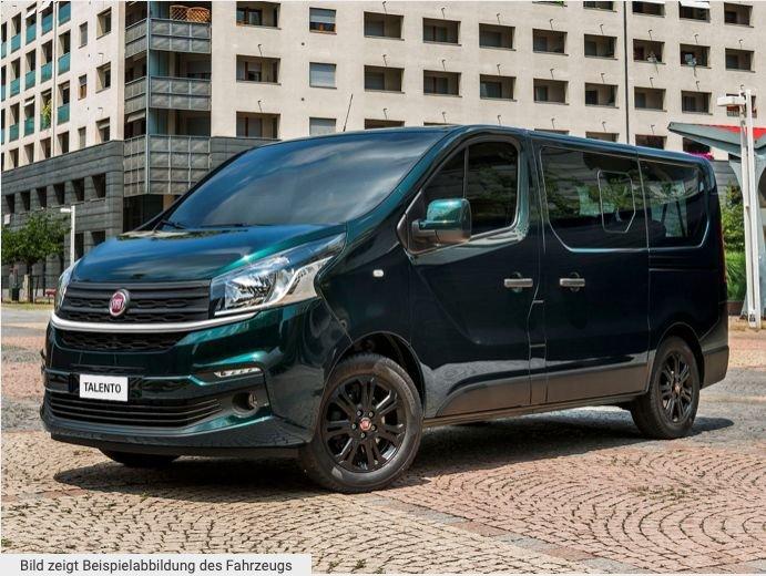 Fiat Talento Kombi Family 8-Sitzer mit 120PS für 179€ mtl. Brutto im Privatleasing – LF: 0.42