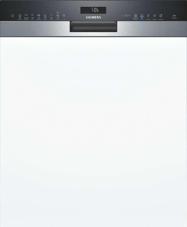 Siemens iQ500 Geschirrspüler (teilintegriert, vollintegriert, unterbaufähig) für 459€ inkl. Versand (statt 584€)
