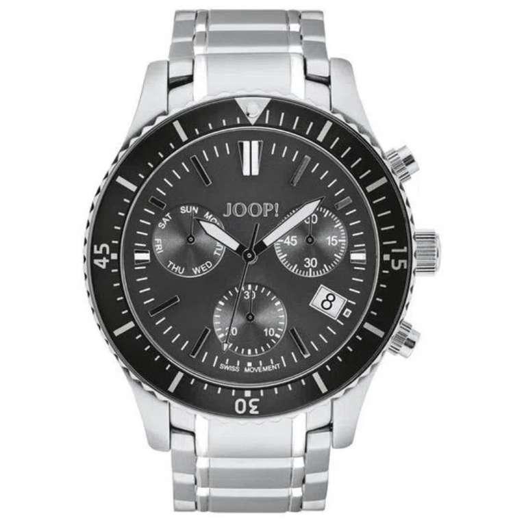 JOOP! 2028338 Herren Chronograph mit Edelstahl-Armband und Faltschließe für 263,20€ (statt 330€)