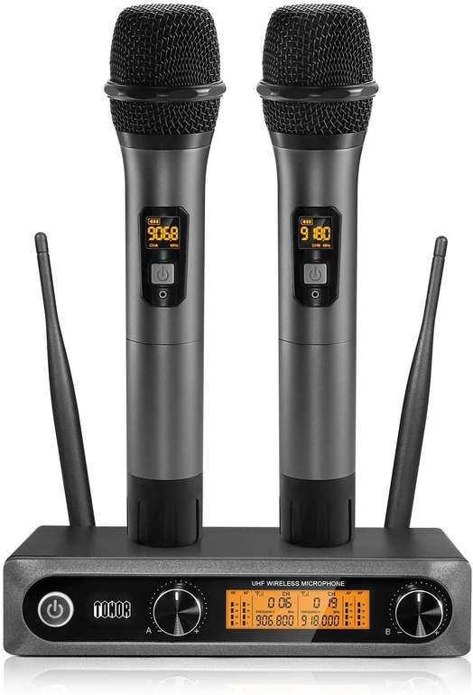 Tonor Funkmikrofon System für 62,99€ inkl. Versand (statt 90€)