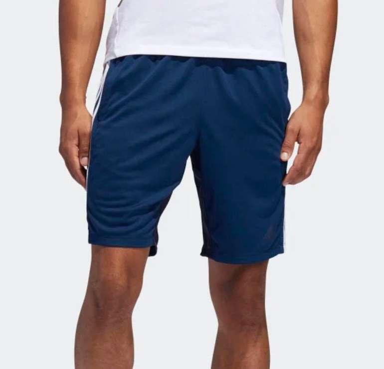 Adidas 4krft Herren Sport Heather 3-Streifen Shorts für 16,78€ (statt 29€) - Creators Club!