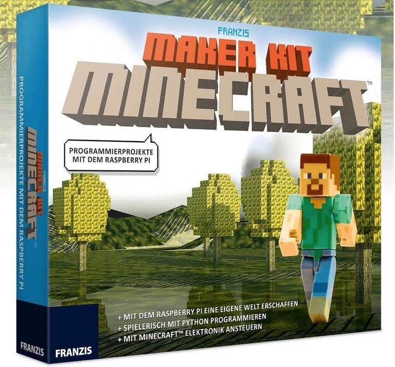 Franzis Maker Kit Minecraft (Programmierprojekte mit dem Raspberry Pi) für 12€ inkl. Versand (statt 15€)