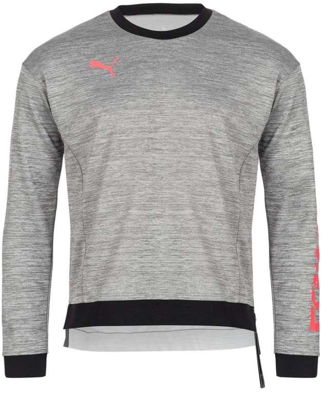 Puma ftblNXT Hybrid Herren Training Sweatshirt in Grau für 26,94€ inkl. Versand (statt 35€)