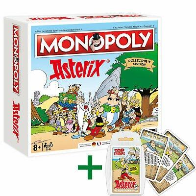Monopoly Asterix und Obelix limitierte Collector's Edition (3.000 Stück) + Top Trumps Quartett für 46,74€