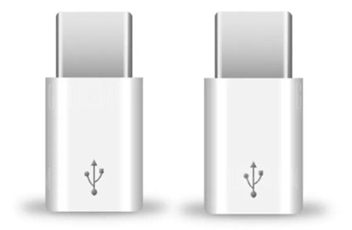Doppelpack Tochic USB-C (male) auf microUSB (female) Adapter für 0,67€