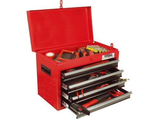 Brüder Mannesmann (28261) Werkzeugkasten 138tlg. für 68,90€ (statt 93€)