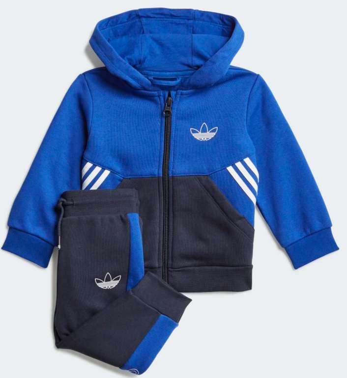 adidas SPR Collection Full-Zip Hoodie-Set in Blau für 23,38€inkl. Versand (statt 40€) - Creators Club