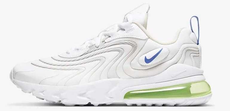 """Nike Air Max 270 React ENG Sneaker im """"White/Sapphire""""-Colourway für 66,13€"""