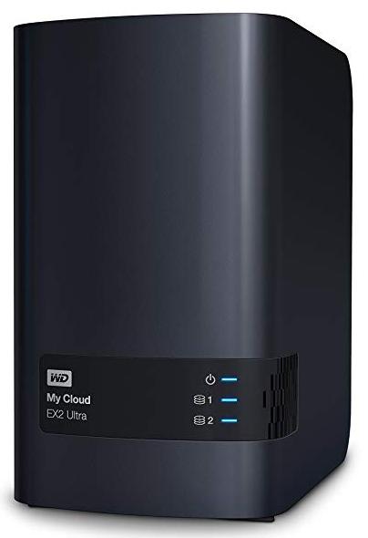 WD My Cloud EX2 Ultra NAS System 20TB (2x 10TB HDD) für 563,99€ (statt 638€)