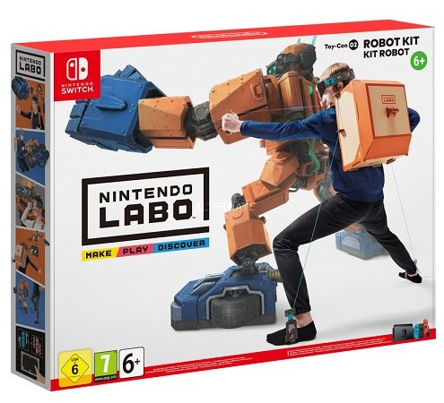 Nintendo Labo: Toy-Con 02 Robo-Set für 30,99€ inkl. Versand (statt 40€)