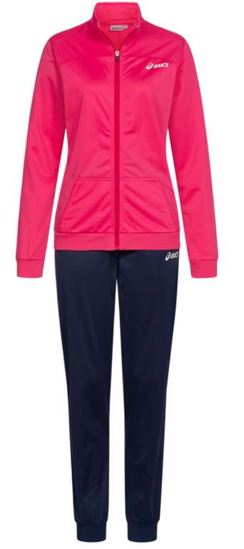 Asics Woven Damen Trainingsanzug in Rosa für 28,94€ inkl. Versand (statt 40€)