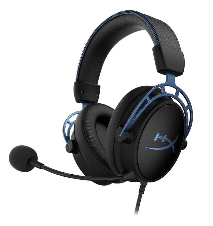 HyperX Cloud Alpha S Gaming Headset in schwarz/blau für 79€ inkl. Versand (statt 104€)