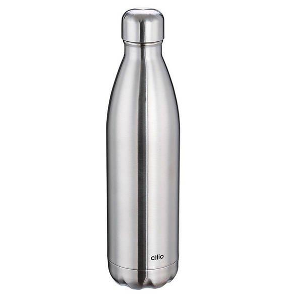 Cilio Isoliertrinkflasche 'Elegante' (750ml, Edelstahl) für 15,99€ (Abholung)