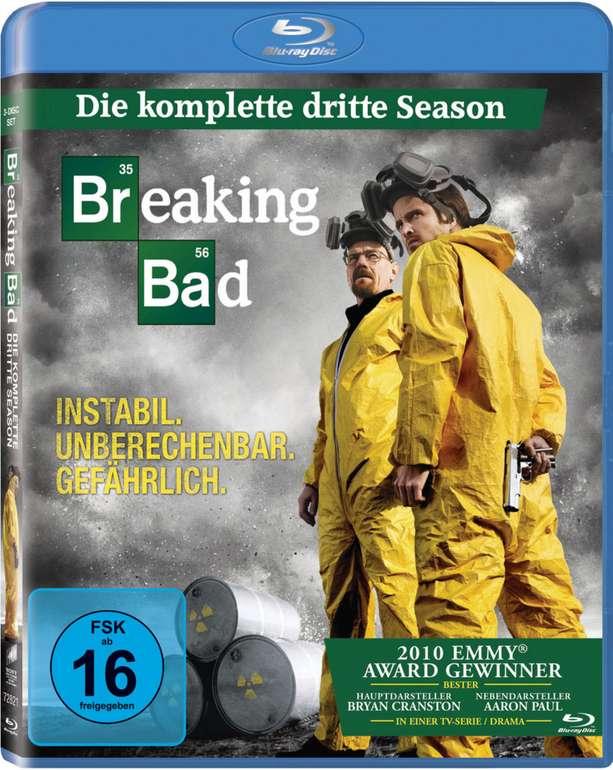Breaking Bad (Staffel 3) Blu-Ray für 4,84€inkl. Versand (statt 15€)