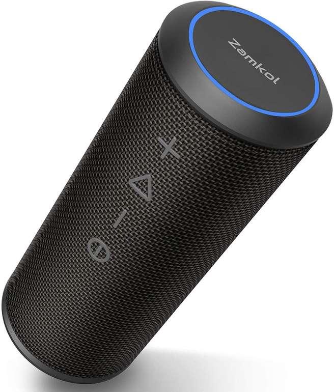 Zamkol wasserfester Wireless Bluetooth Lautsprecher mit 24 Watt für 39,99€ inkl. Versand (statt 50€)