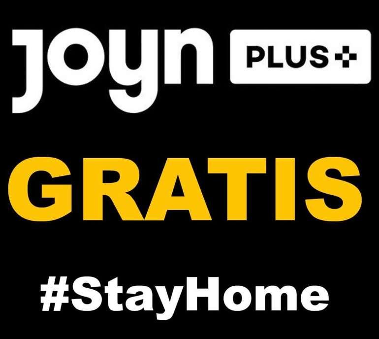Joyn Plus+ Premium - Live TV in HD für 1 Monat kostenlos testen (statt 6,99€) - mtl. kündbar!