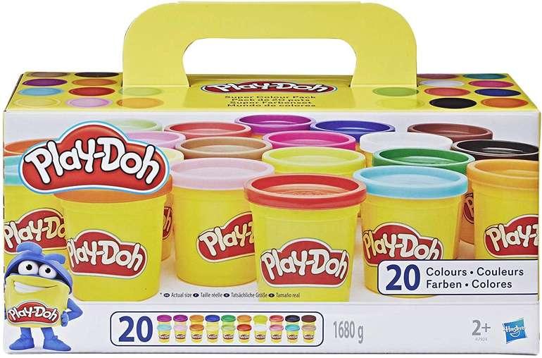 Play-Doh Super Farbenset mit 20 verschiedenen Farben für 9,99€ (statt 13€) - Prime!