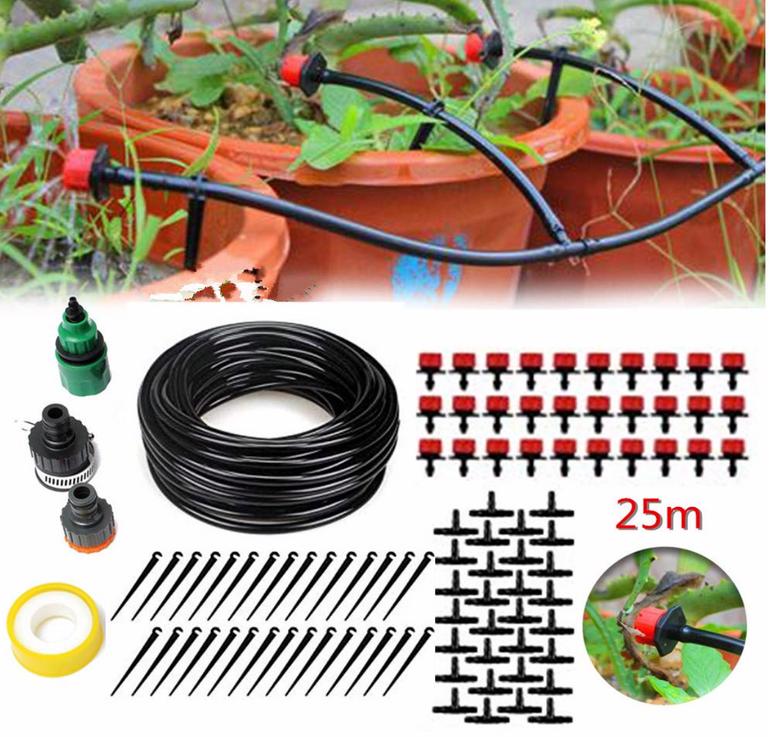 king do way Garten Bewässerungssystem mit viel Zubehör für 12,94€ inkl. Prime