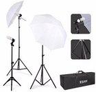 ESDDI Fotoschirme Set mit 135W 5500K Tageslichtlampe für 27,99€ inkl. Versand