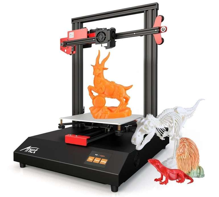 Anet ET4 3D Drucker (220 x 220 x 250 mm) für 132,60€ inkl. Versand (statt 204€)