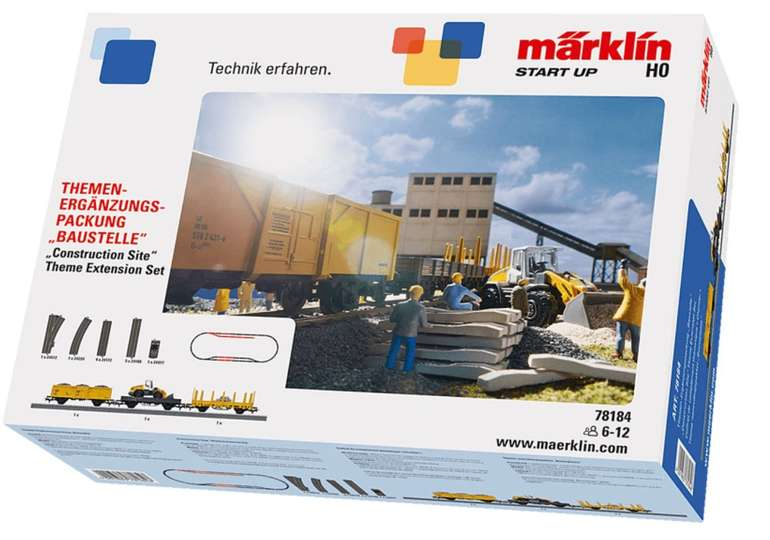 "Märklin Start up Themen-Ergänzungspackung ""Baustelle"" (78184) für 55€ inkl. Versand"
