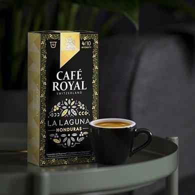 Café Royal Sale mit bis zu 65% Rabatt, z.B. 100 Espresso Laguna Kapseln ab 19€