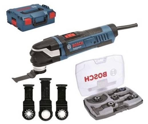 Bosch Professional Multi-Cutter GOP 40-30 + 5-tlg. Messer-Set & L-Boxx 179€