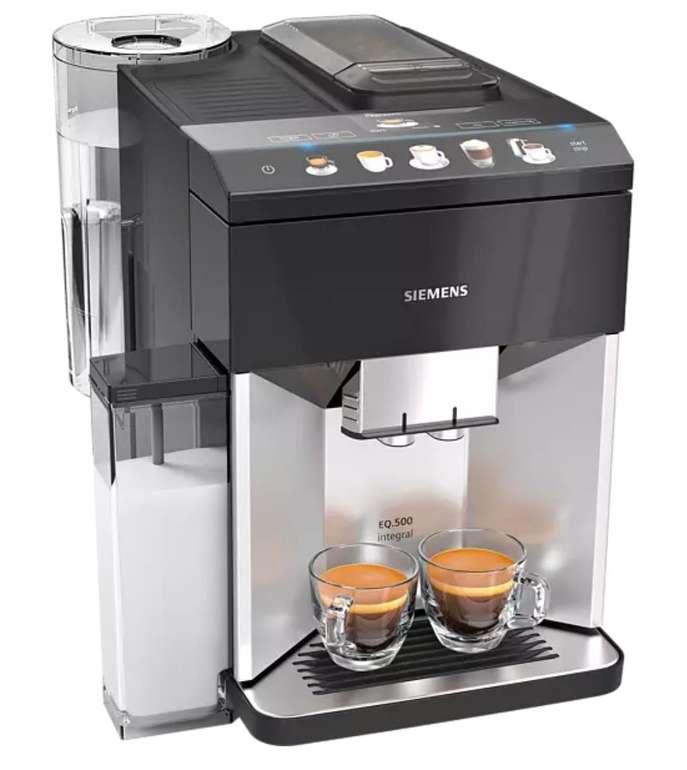 Siemens Kaffeevollautomat TQ503D01 EQ.500 für 483,65€ inkl. Versand (statt 545€)