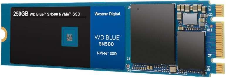 Western Digital Blue SN500 NVMe M.2 SSD mit 250GB für 39€ inkl. VSK (statt 50€)