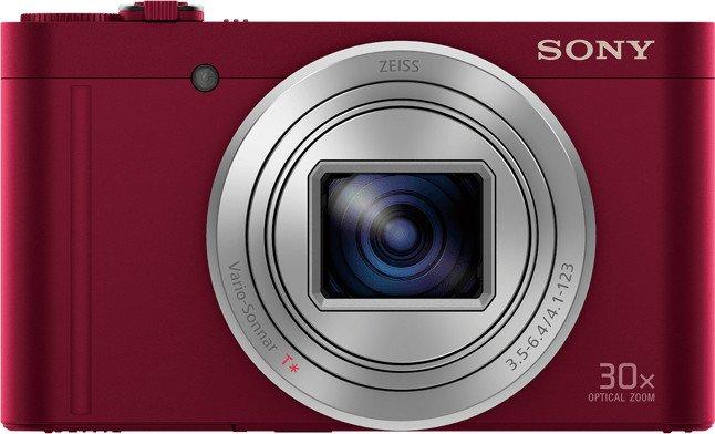Sony Cyber-shot DSC-WX500 Digitalkamera in Rot, 18.2 Megapixel für 210,53€ inkl. Versand (statt 228€)