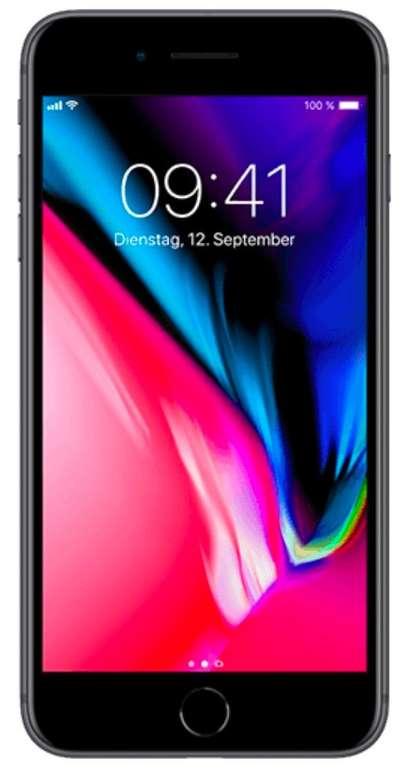 Apple iPhone 8 (+29€) + Vodafone Young M mit Gigakombi (Allnet Flat, 11GB LTE) für 18,99€ mtl.