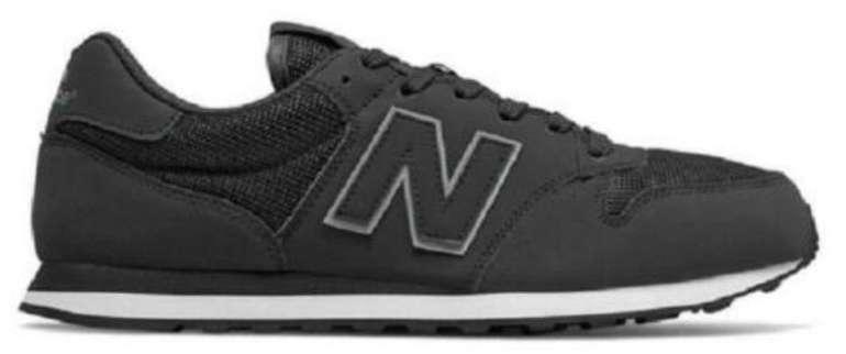 New Balance 500 Herren Sneaker in grau/schwarz/weiß für 47,96€ inkl. Versand (statt 60€)