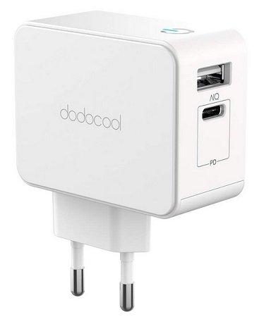dodocool 2-Port USB Schnellladegerät für 13,99€ mit Prime (statt 20€)