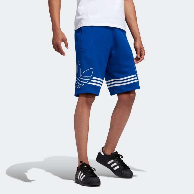 Adidas Herren Outline Shorts für 21,25€ inkl. Versand (statt 38€) - Creators Club