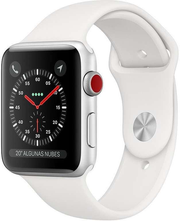 Apple Watch Series 3 mit 38mm (GPS + LTE) für 202,42€ (statt 271€)