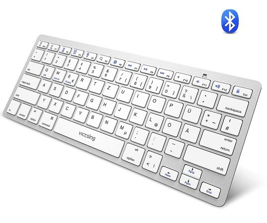 VicTsing Bluetooth Tastatur für 6,99€ inkl. VSK (Prime)