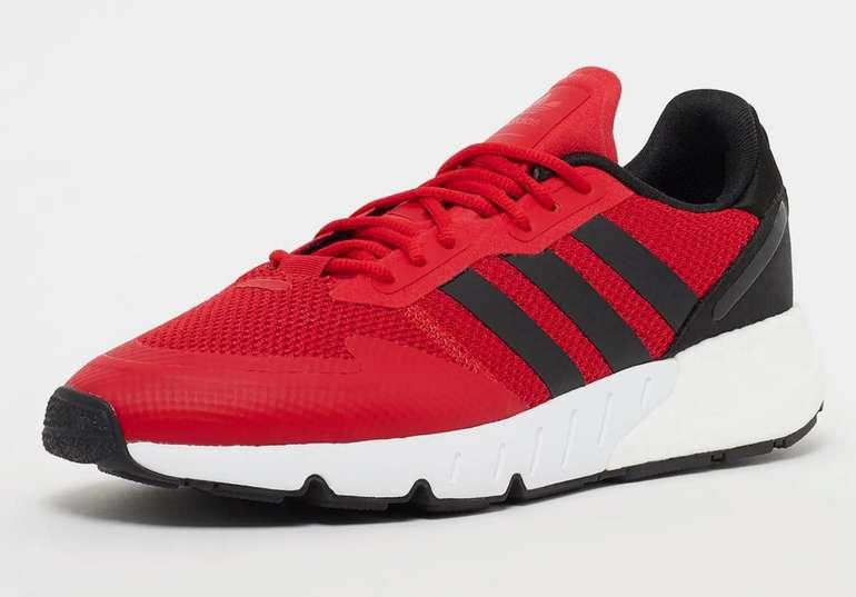 adidas ZX 1K Boost Herren Sneaker in Rot/Schwarz für 52,99€inkl. Versand (statt 70€)