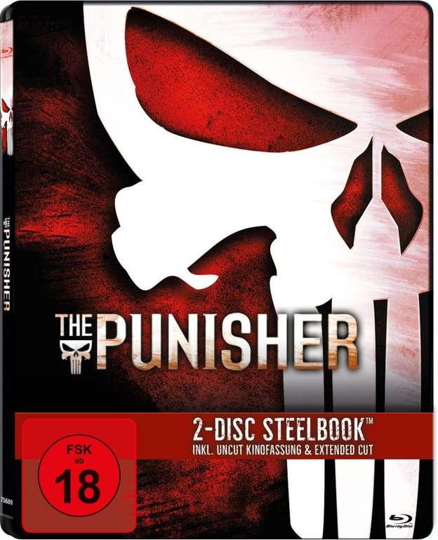 The Punisher SteelBook® Exklusiv (Blu-ray) für 9,99€ bei Filialabholung (statt 20€)