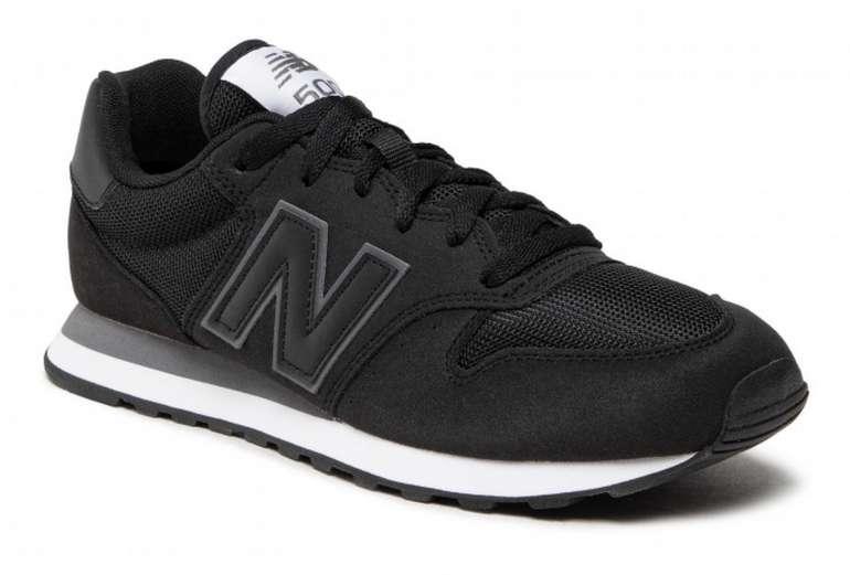 New Balance 500 Herren Sneaker in grau/schwarz/weiß für 41,30€ inkl. Versand (statt 56€)