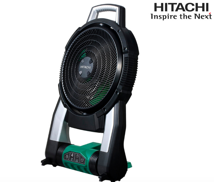 Mobiler Ventilator Hitachi UF18DSAL für 40,90€ inkl. Versand