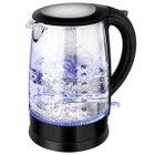 Topelek Elektrischer Glas Wasserkocher (1,7 Liter, 1500 Watt) für 21,99€