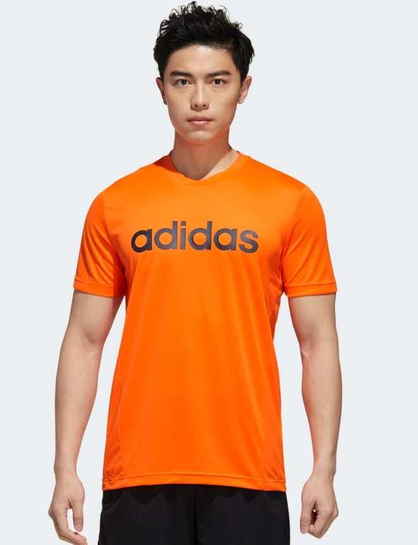adidas Designed 2 Herren T-Shirt in Orange für 12,75€inkl. Versand (statt 25€) - Creators Club!