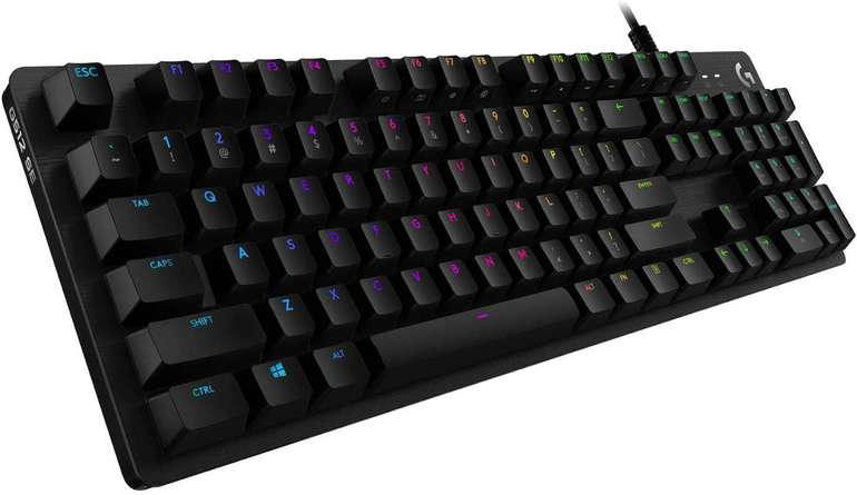 Logitech G512 Gaming Tastatur RGB Lightsync Mechanische Switches (GX Blue Switch) für 59€ inkl. Versand